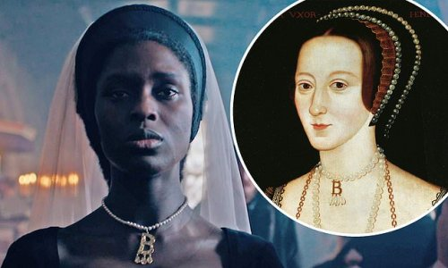 Jodie Turner-Smith awaits her fate in Anne Boleyn teaser
