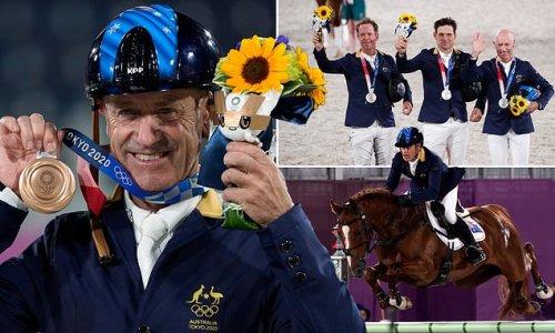 Veteran Olympian becomes Australia's oldest EVER medallist at 62