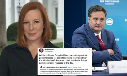 Psaki says Ron Klain is 'obsessed with lowering costs'