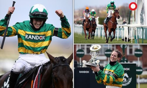 Rachael Blackmore becomes the first woman to win the Grand National