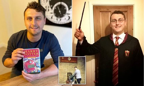 Man called Harry Potter sells copy of the Philosopher's Stone book
