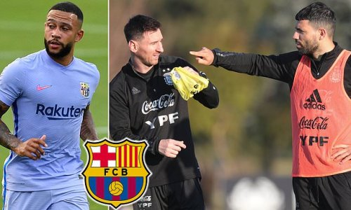 Depay insists himself, Messi and Aguero can play together at Barcelona
