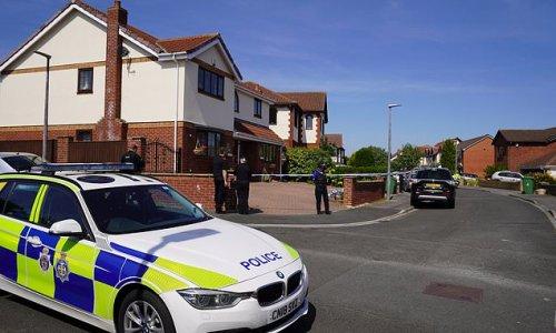 Child dies after horror crash with car in upmarket housing estate