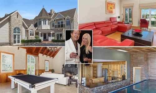 Christa Billich and husband Charles buy a mansion with a KITCHEN POOL