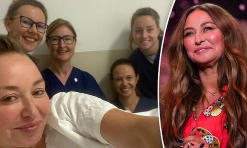Camilla Franks' heartfelt thank you to medical staff after her surgery