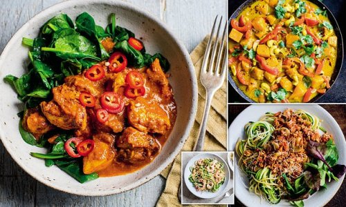 Dr MICHAEL MOSLEY's recipes that could help you beat Type 2 diabetes
