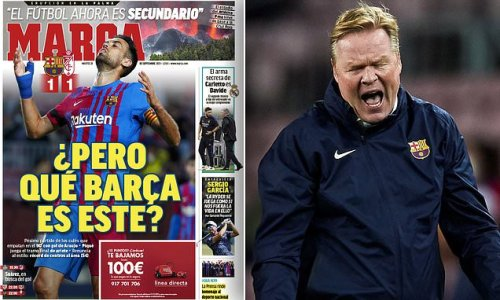 'What Barcelona is this?': Spanish papers lament 'appalling' display