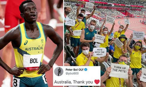 Australian Olympian pack the stands to cheer on Peter Bol in 800 final