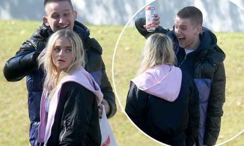 Kelly Neelan is terrorised by youths who pour BEER on her