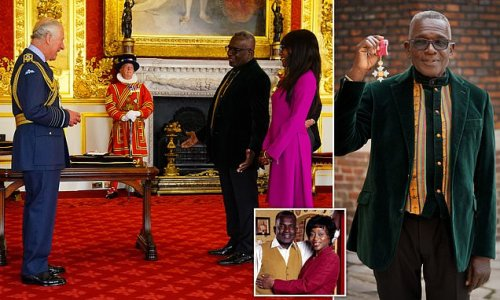 Prince Charles hosts second Investiture ceremony at St James Palace