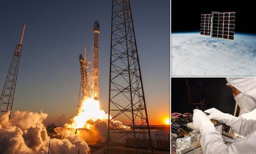 SpaceX delays launch that included three British-built satellites