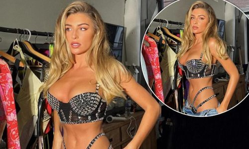 Zara McDermott shows off her phenomenal figure and ample assets