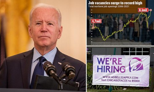 There are now EIGHT MILLION job vacancies - the most since 2000