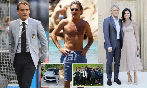 Italian stallion! Roberto Mancini is manager who has viewers swooning