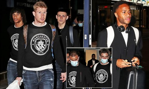 Manchester City touch down after Club Bruges win