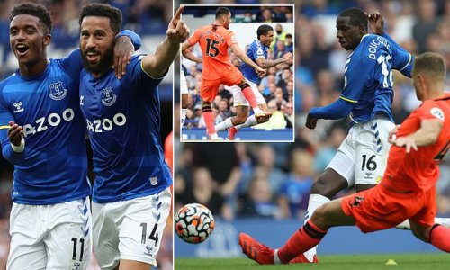 Everton 2-0 Norwich: Townsend and Doucoure pile the hurt on Farke
