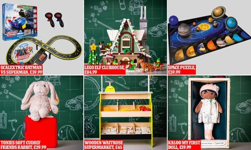 John Lewis shares its predictions for the top 10 toys for Christmas