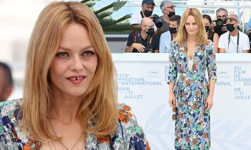 Vanessa Paradis stuns in floral dress at Cannes Film Festival 2021