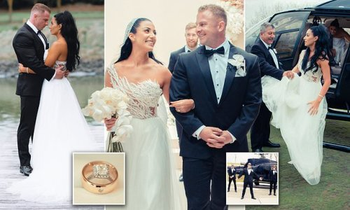 Personal trainer shares a look at his lavish $160,000 wedding