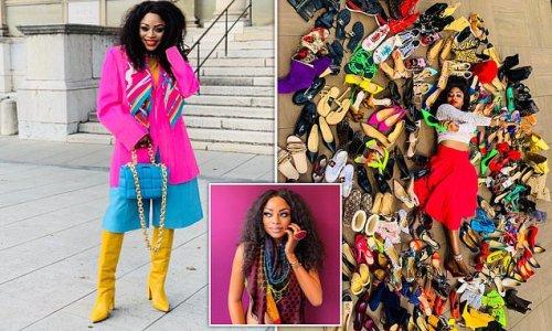 Fashion influencer quits job to showcase £100,000 wardrobe