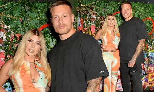 Olivia and Alex Bowen put on a loved-up display at Club Rewind