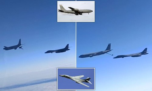 Russian fighter jets buzz US bombers in tense encounter over Black Sea