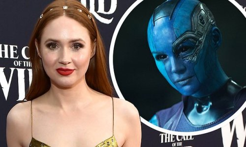 Karen Gillan reveals she is 'obsessed' with Nebula character
