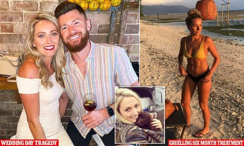 Bride-to-be, 29, finds lumps in her breast while on holiday