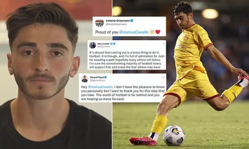 Pique praises Cavallo after Adelaide United star announces he is gay