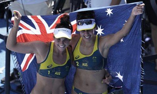 Australia's beach volleyball team chasing Olympic golden glory