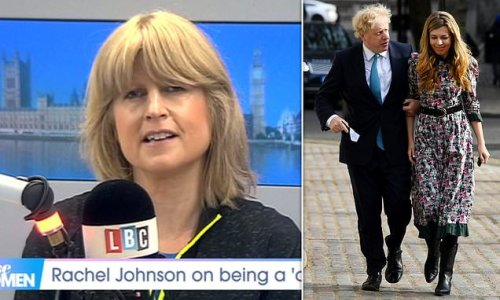 Rachel Johnson says Carrie Symonds may do LBC podcast 'at some point'