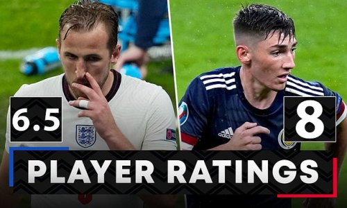 PLAYER RATINGS: Harry Kane cut an isolated figure for England again