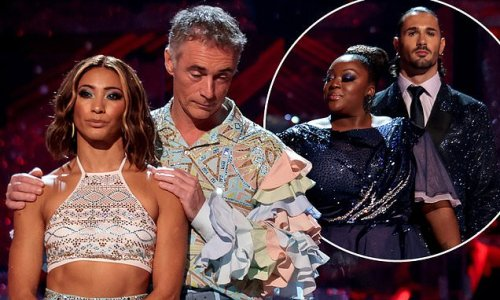 Strictly Come Dancing 2021: Greg Wise third celebrity to be eliminated