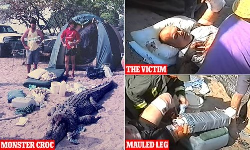 Incredible footage of one of Australia's most notorious croc attacks