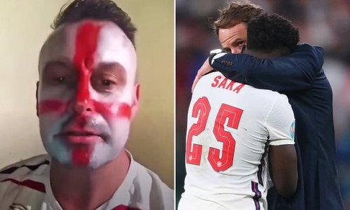 A man has been charged with making racist abuse against England stars