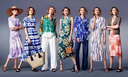 Summer trend that's to dye for: Hippy print has a grown-up makeover