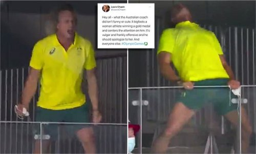 Sour American fans accuse Aussie swim coach of 'toxic masculinity'