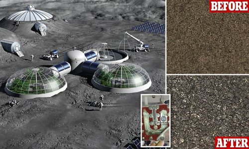 Scientists test machine that makes oxygen by 'cooking' lunar soil
