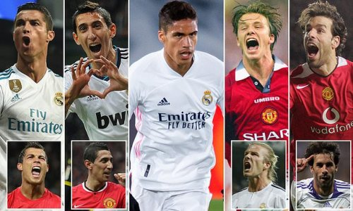 The eight players to have played for both Man United and Real Madrid