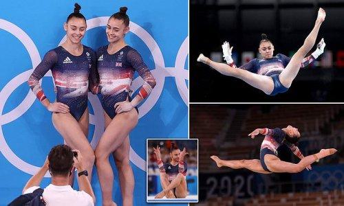 Team GB's Gadirova twins battle it out for individual glory