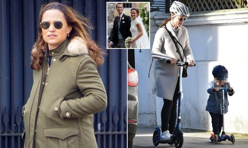 Pippa Middleton gives birth to her second child