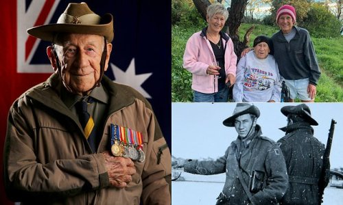 Digger Henry Corky Caldwell, who never missed ANZAC Day, died aged 101