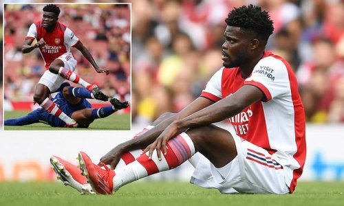 Partey 'set to MISS start of the season' for Arsenal with ankle injury