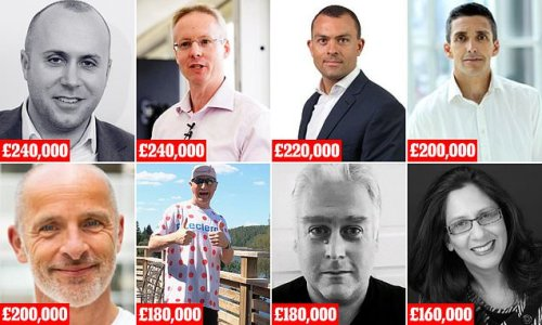 Eight NHS Test and Trace bosses are paid MORE than Prime Minister