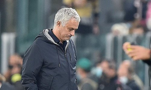 Furious Roma boss Mourinho takes aim at Juve after controversial loss