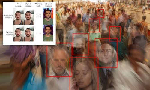 AI tells where to apply makeup to fool facial-recognition systems
