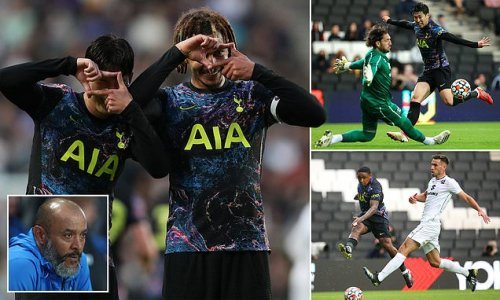 FIVE things we learned from Tottenham's 3-1 win over MK Dons