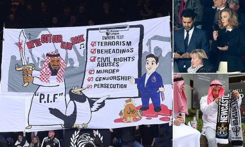 Crystal Palace fan group SLAM Newcastle's Saudi-led owners