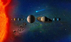 Discover in the solar system