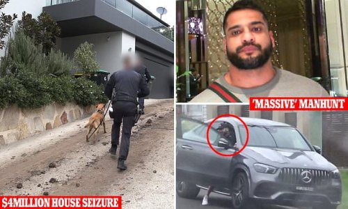 Police move to seize the $4 MILLION home of alleged drug kingpin